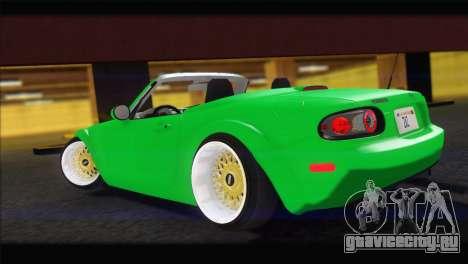 Mazda MX-5 2010 для GTA San Andreas вид слева