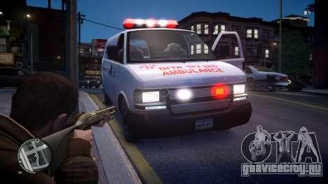 Israel MDA Ambulance для GTA 4 вид справа