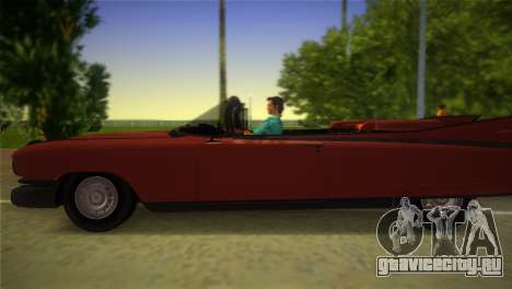 Cadillac Eldorado для GTA Vice City вид справа