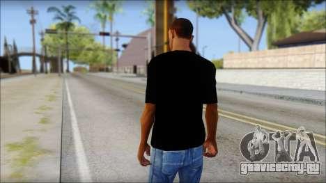WWE Logo T-Shirt mod v2 для GTA San Andreas второй скриншот