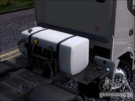 Iveco Stralis HiWay 560 E6 8x4 для GTA San Andreas вид снизу