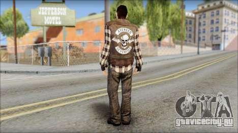 Biker from Avenged Sevenfold для GTA San Andreas второй скриншот
