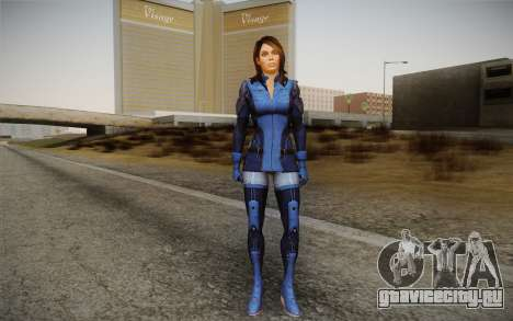 Ashley from Mass Effect 3 для GTA San Andreas