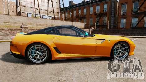 Ferrari 599 GTO PJ2 для GTA 4 вид слева