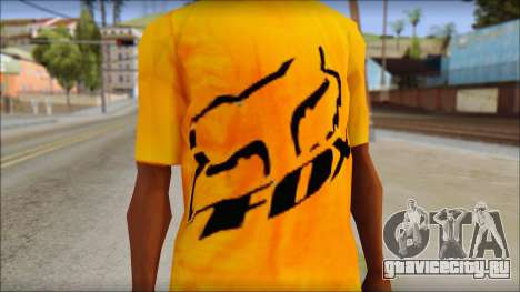 Cj Fox T-Shirt для GTA San Andreas третий скриншот