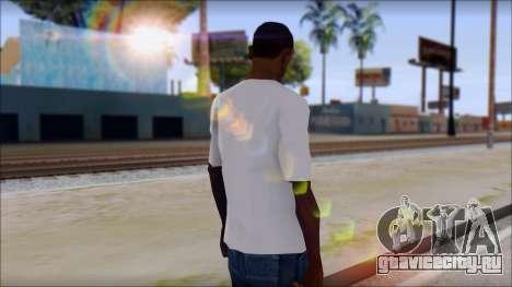 Adio T-Shirt для GTA San Andreas второй скриншот