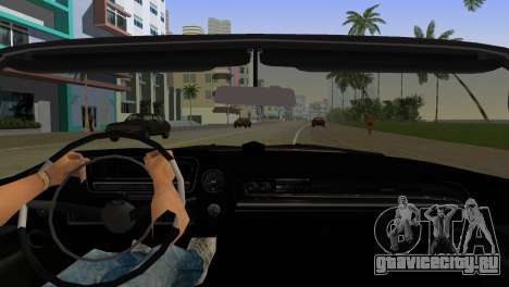 Cadillac Eldorado для GTA Vice City вид изнутри