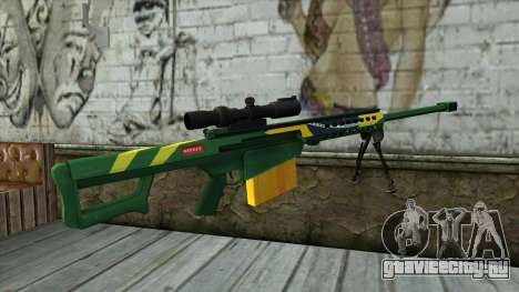 M82A3 Brazil Camo для GTA San Andreas второй скриншот