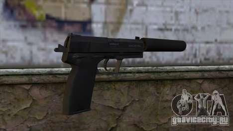 USP-S from CS:GO v2 для GTA San Andreas второй скриншот