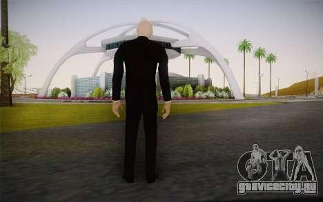 Slenderman для GTA San Andreas второй скриншот