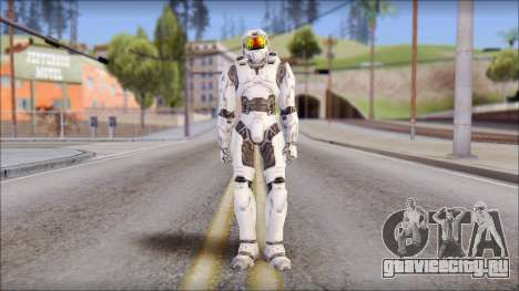 Masterchief White для GTA San Andreas