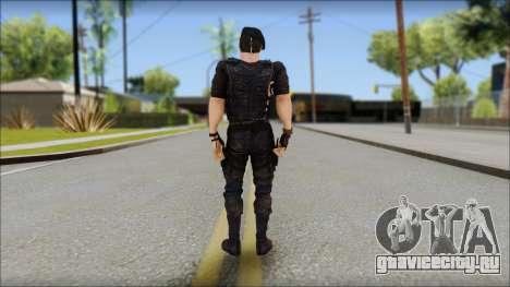 Barney Ross для GTA San Andreas второй скриншот