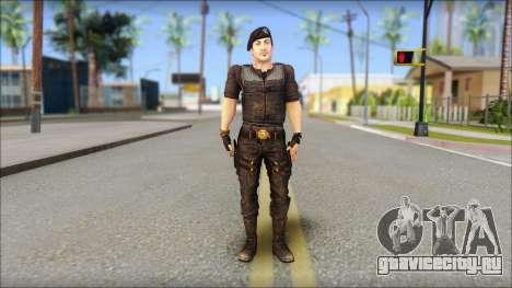 Barney Ross для GTA San Andreas