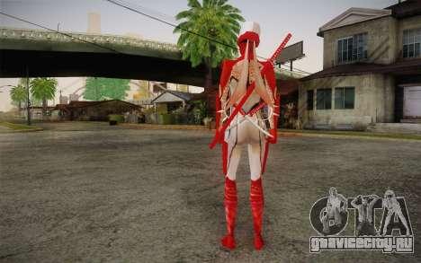 Hibana from Nigthshade of Shinobi для GTA San Andreas