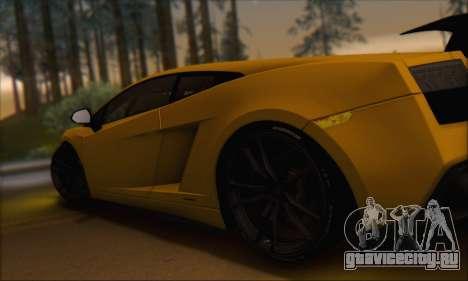 Lamborghini Gallardo LP570 Superleggera для GTA San Andreas салон