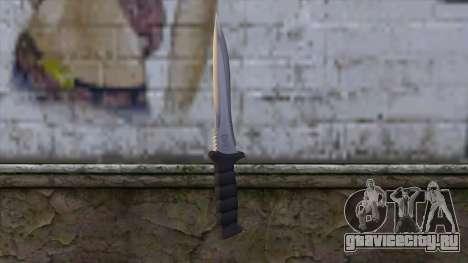 Knife from Resident Evil 6 v1 для GTA San Andreas второй скриншот