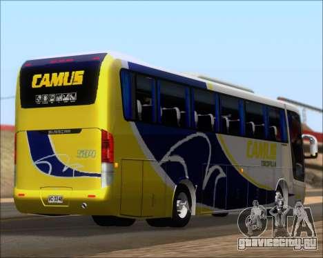 Busscar Vissta Buss LO Mercedes Benz 0-500RS для GTA San Andreas вид снизу