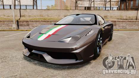 Ferrari 458 Italia Speciale Novitec Rosso для GTA 4