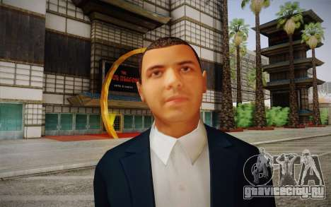 Vicente Zambada для GTA San Andreas третий скриншот