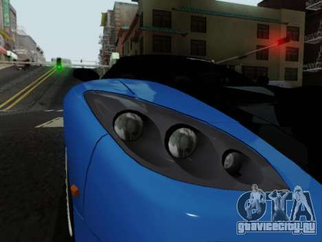 Honda NSX VeilSide для GTA San Andreas вид сзади