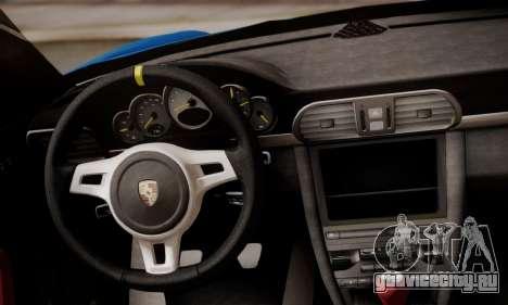 Porsche 911 GT3 RS4.0 2011 для GTA San Andreas салон