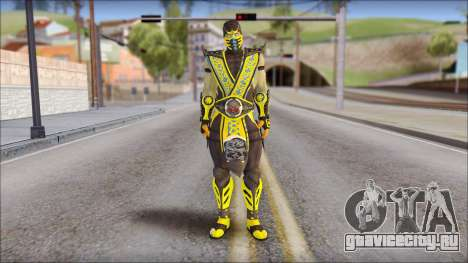 Scorpion Skin v2 для GTA San Andreas