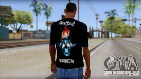 Papa Roach The Connection Fan T-Shirt для GTA San Andreas второй скриншот