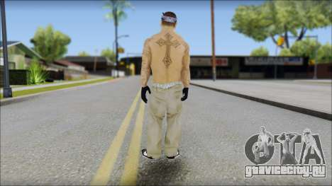 OG Chicano Skin для GTA San Andreas второй скриншот