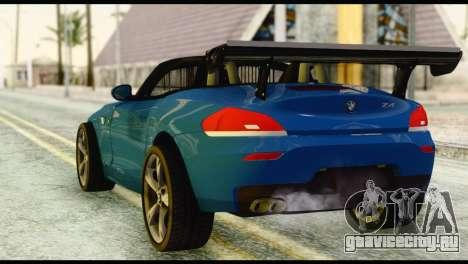 BMW Z4 sDrive28i 2012 для GTA San Andreas