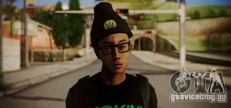 Smoking Super Choronic для GTA San Andreas третий скриншот