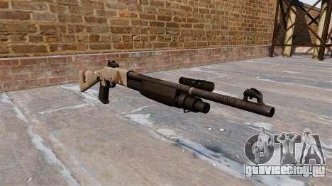 Ружьё Benelli M3 Super 90 choco для GTA 4