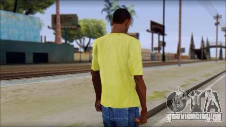 Waffle T-Shirt для GTA San Andreas второй скриншот