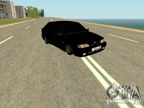 ВАЗ 2114 для GTA San Andreas вид слева