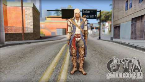 Connor Kenway Assassin Creed III v2 для GTA San Andreas