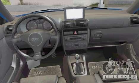 Audi A3 1999 для GTA San Andreas вид изнутри