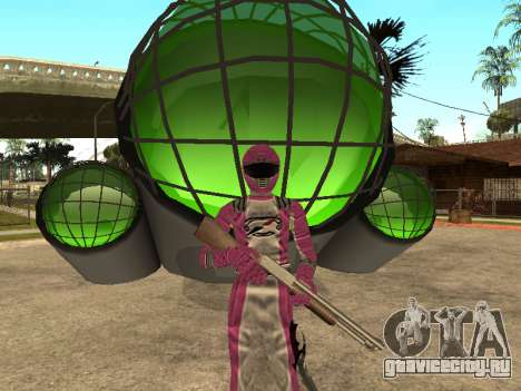 Power Rangers Operation Overdrive для GTA San Andreas десятый скриншот