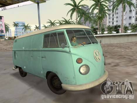 Volkswagen Type 2 T1 Van 1967 для GTA Vice City