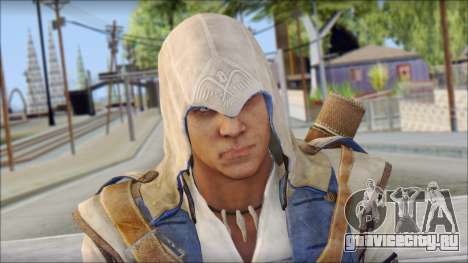 Connor Kenway Assassin Creed III v2 для GTA San Andreas третий скриншот