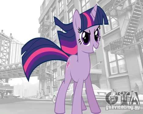 Загрузочные экраны My Little Pony для GTA 4 седьмой скриншот
