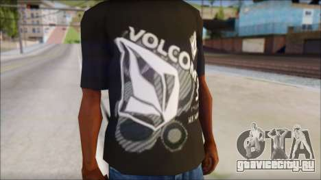 Volcom T-Shirt для GTA San Andreas третий скриншот