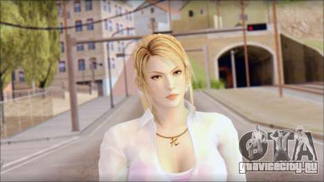 Sarah from Dead or Alive 5 v4 для GTA San Andreas третий скриншот