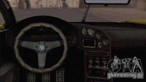 GTA V Turismo R для GTA San Andreas вид справа