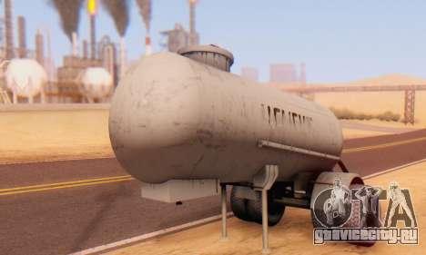 Прицеп цементовоз ТТС 26 для GTA San Andreas вид сзади