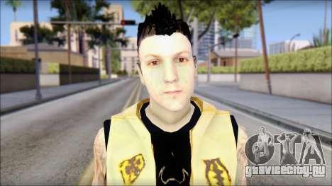 Joel from Good Charlotte для GTA San Andreas третий скриншот