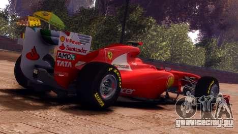 Ferrari 150 Italia для GTA 4 вид слева
