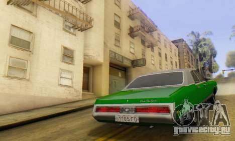Chrysler New Yorker 1971 для GTA San Andreas вид слева