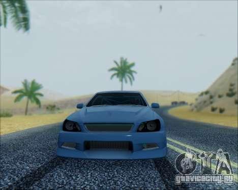 Toyota Allteza C-West для GTA San Andreas вид слева