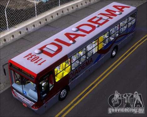 Comil Svelto 2008 Volksbus 17-2 Benfica Diadema для GTA San Andreas вид сзади