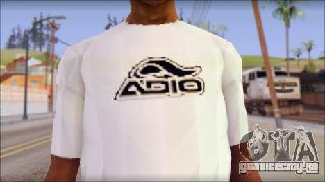Adio T-Shirt для GTA San Andreas третий скриншот