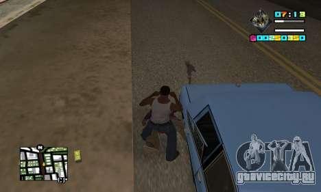 New HUD by Ptaxa1999 для GTA San Andreas третий скриншот